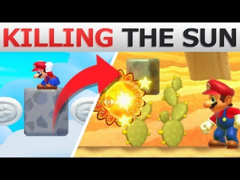 This Stone KILLS the Sun? | Super Mario Maker 2