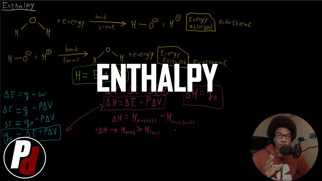 Enthalpy   General Chemistry I   051 - YouTube