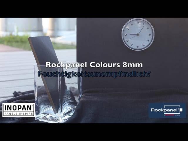 Wasserprobe ROCKPANEL Colours