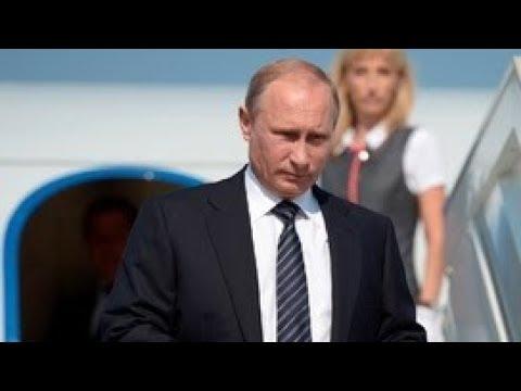 Прилет Владимира Путина в Эр-Рияд. Полное видео