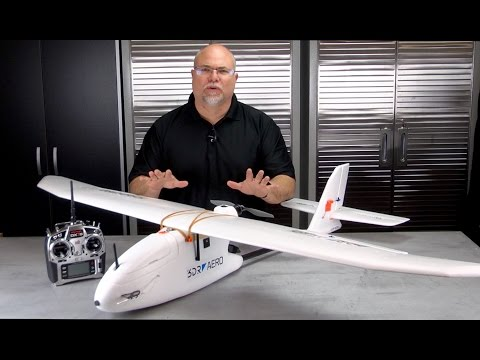3DR Aero Fixed Wing UAV Introduction
