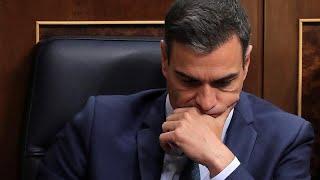Rechazada por segunda vez la investidura de Pedro Sánchez