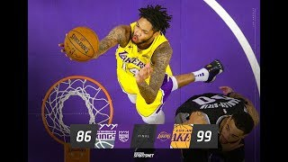 Lakers get their 13th win of the Season VS the Kings Live with DTLF!!