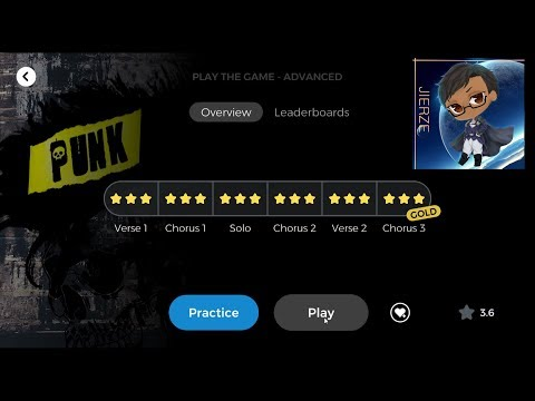 Yousician Piano: Punk (Challenge) - Play The Game (Advanced)