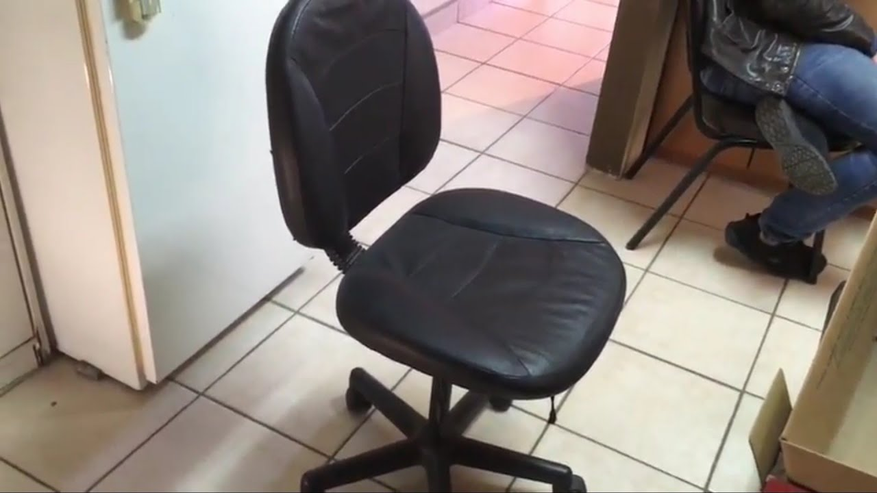 Reparación de Silla de oficina cheap Fix Sinking office chair - YouTube