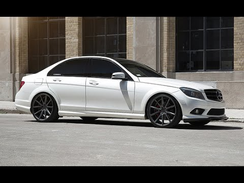 mercedes benz c300 vossen 20 vfs 1 concave wheel. Black Bedroom Furniture Sets. Home Design Ideas