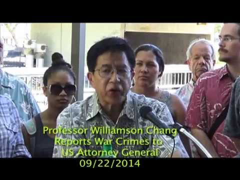 Professor Williamson Chang Repo Attorney General 09-22-2014