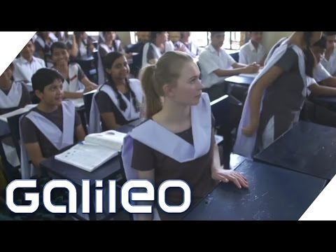 19 Stunden Schule am Tag: Schüleraustausch extrem | Galileo | ProSieben
