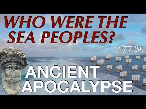 The Sea Peoples & The Late Bronze Age Collapse // Ancient Hi