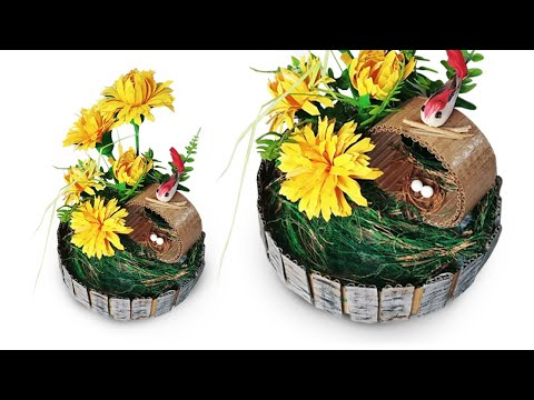 DIY Paper Showpiece ll How to Make Paper Showpiece for Home decoration