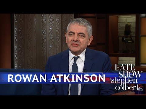 Rowan Atkinson Dusts Off An Old Comedy Bit