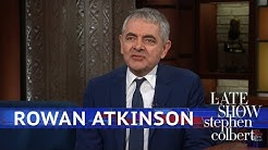 Rowan Atkinson Dusts Off An Old Comedy Bit
