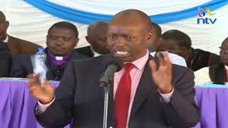 The people of Solai still need everyone's support - Governor Lee Kinyanjui speech at Solai