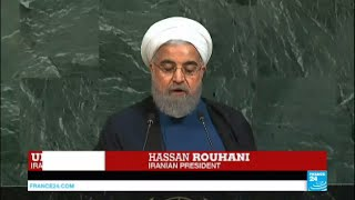 REPLAY - Watch Iranian President Hassan Rouhani's address to the U.N.
