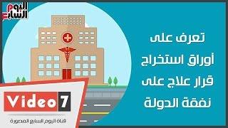 نفقة الدولة، وزارة الصحة، العلاج على نفقة الدولة، التأمين الصحى