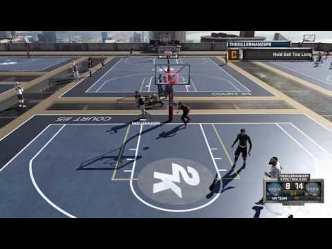 NBA 2K16 My Park Comeback vs. Trash Legend 3 Chesser