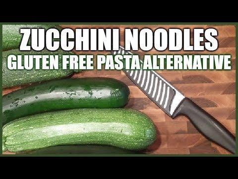 Zucchini Noodles | Healthy Gluten Free Pasta Alternative