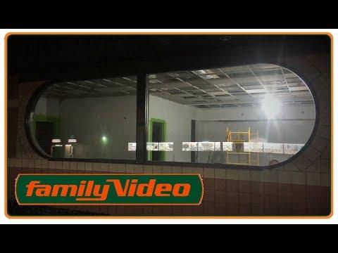 Abandoned Family Video North Canton Ohio