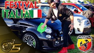 Taking My Modifed Abarth 595 To The Abarth Meet At Festival Italia 2017