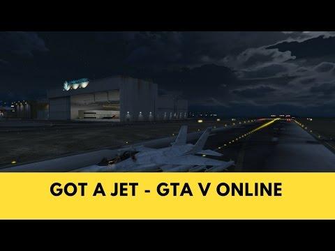 I got a jet - GTA Online