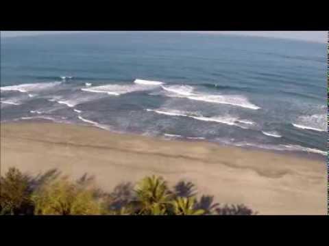 Bird S Eye View Sunset German Beach Resort Youtube