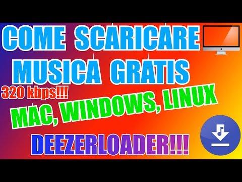 Download Musica GRATIS MAC WIN LINUX 320 Kbps