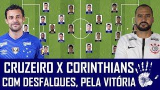 PRÉ-JOGO: CRUZEIRO X CORINTHIANS - BRASILEIRÃO