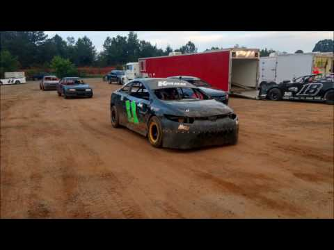 04-29-17 Jonathan Sarratt wins at Cherokee Speedway (FWD, Extreme 4 Class)
