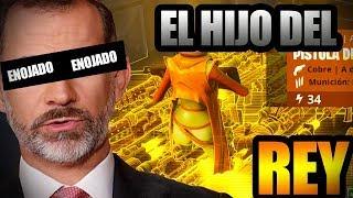 Soy El HIJO Del REY De ESPAÑA 🤩 😂- CAZANDO SCAMMERS