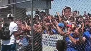 PAUL GEORGE WELCOME PARADE OKLAHOMA CITY THUNDER GETS OFF PLANE IN OKC 7/11/2017