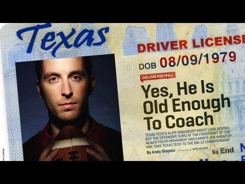 Sports Illustrated Photo Shoot: Kliff Kingsbury