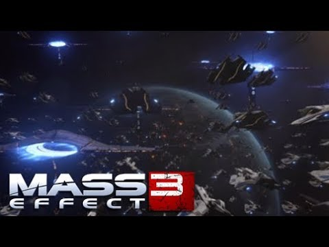 Mass Effect 3 Space battle with ME1&2 epic music (all fleets)
