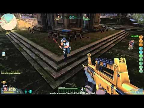 [Truy Kich] Game Play: QBZ95 Gold Zombie Thành Cổ (Nhạc Hay) VaiLinhHon#2 (Kênh Chính Thức)