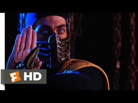 Mortal Kombat (1995) - Enter Sub-Zero and Scorpion Scene (2/10) | Movieclips