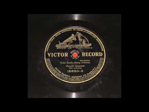 Haydn Quartet  Yale Boola Song 1911