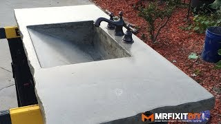 DIY CONCRETE SINK (Part 1 of 2)