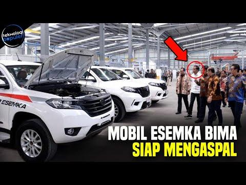 Mobil ESEMKA Siap Mengaspal, Wujud Kekuatan Industri Otomotif Nasional Industri otomotif Tanah Air t.