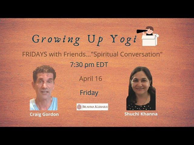 Friday Conversation: Growing Up Yogi with Craig & Shuchi