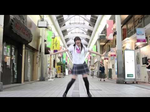 【宮島愛夏】 スイートマジック  【総曲輪通り】 とやまde踊ってみた