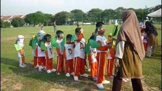Sukan Tadika Orange 2012-Perbarisan