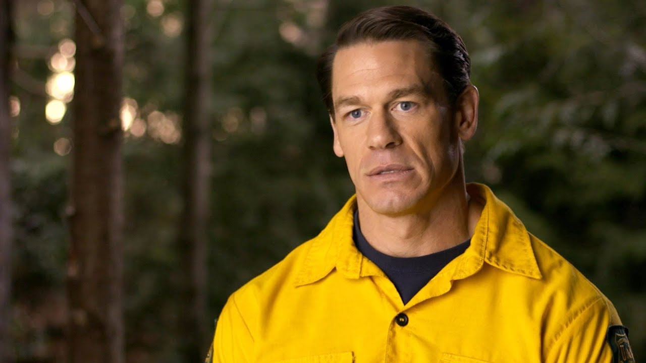 John Cena On Having Fun On The Set Of Playing With Fire