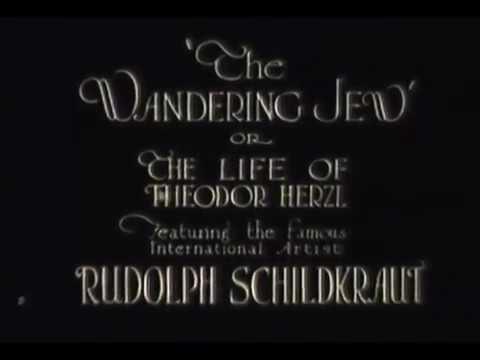 היהודי הנודד - סרט אילם (1921)