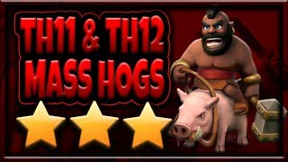 How to use Hogs | Mass Hogs & Bowlers TH11 & TH12 Attack Strategy Guide for 3 Stars | Clash of Clans