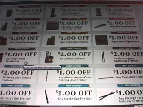 Rite Aid Eye Makeup Printable Coupons Expire's 10/19/13