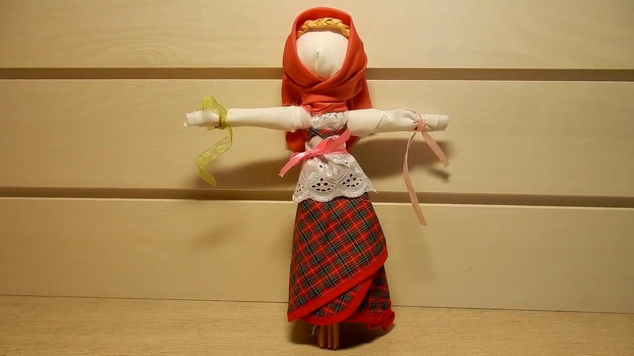 Кукла- оберег  Масленица своими руками должна быть в каждом доме