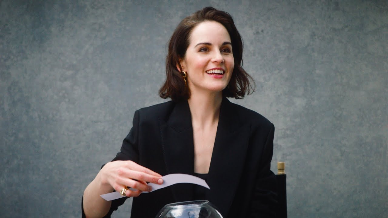 Download Michelle Dockery On How She Deals With Embarrassing Moments | NET-A-PORTER