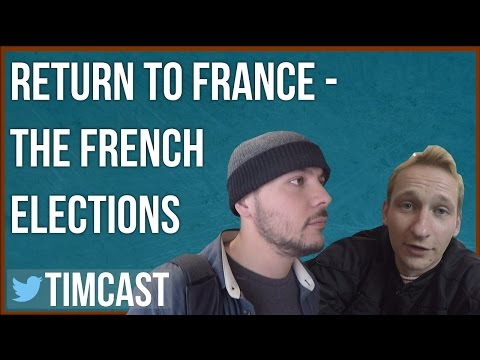 THE FRENCH ELECTIONS - MACRON V. LE PEN