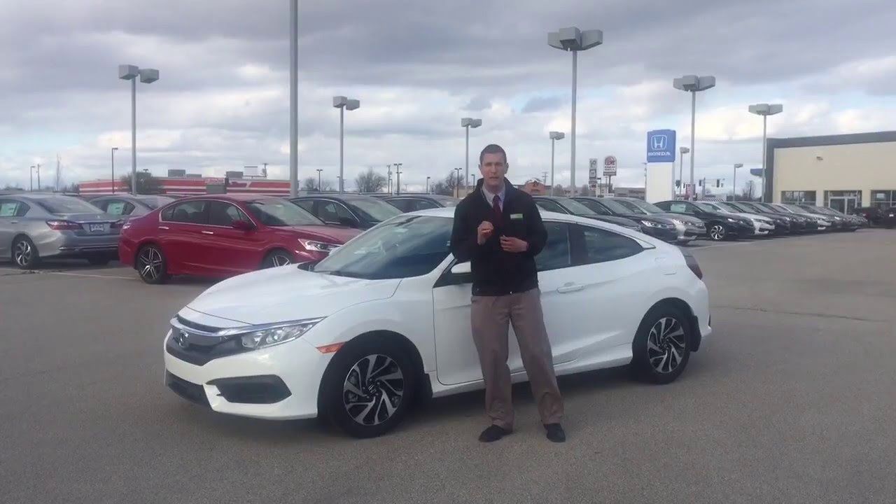 2016 Honda Civic Coupe LX Presented By Jeremy Rees Of Victory Honda In  Muncie Indiana   YouTube