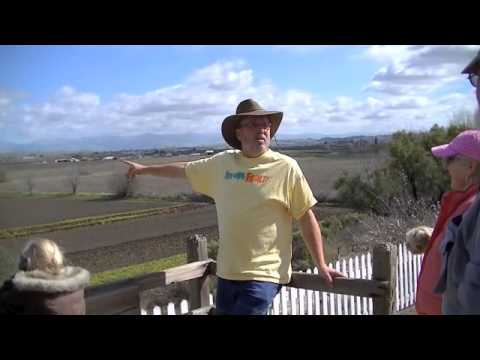 San Andreas Fault Walking Tour, San Juan Bautista, California