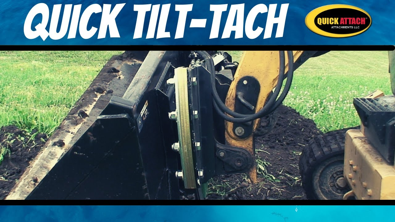 Quick Attach® Quick Tilt Tach™ Skid Steer Tilt and Angle Attachment